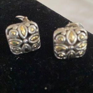 John Hardy 18k and Sterling Earrings